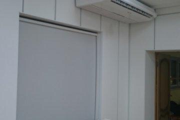 Монтаж универсального кондиционера ROVEX в аудитории ВГУ
