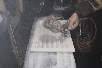 Покраска настенного кондиционера в чёрный цвет (фото)