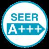 Класс энергоэффективности SEER (A+++).