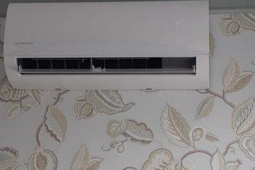 Монтаж настенного кондиционера KENTATSU в квартире, фото