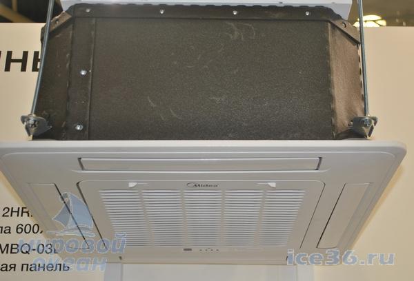 Кассетный кондиционер Midea MCA3-HRN1-Q1 фото