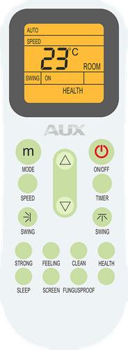Напольно-потолочный кондиционер AUX ALCF ON-OFF  пульт дистанционного управления
