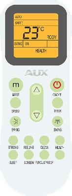 Настенный кондиционер AUX Касетные ALCA ON-OFF  дистанционный пульт управления