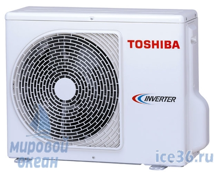 Фото внешнего блока кондиционера Toshiba RAS-10N3KVR-E