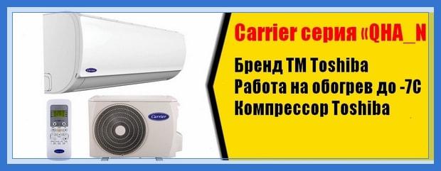 Сплит-система Carrier купить в Воронеже