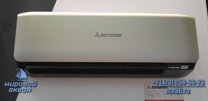 Инверторный кондиционер Mitsubishi Heavy SRK35ZS-WT/SRC35ZS-S