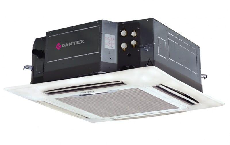 Dantex DF-600-1500QB-P4 фанкойл четырехпоточные